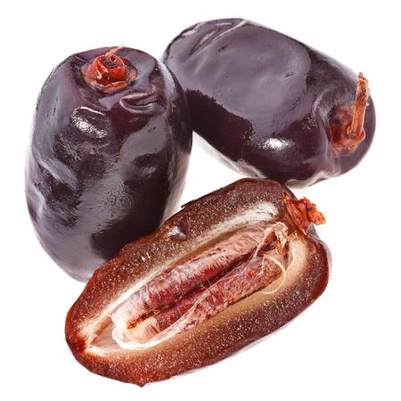 Fresh dates fruits isolated Stockfoto