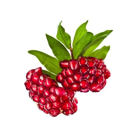 Ripe pomegranate fruit seeds Stockfoto