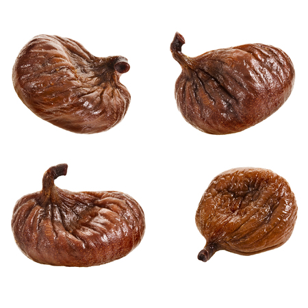 Set of single fig fruit