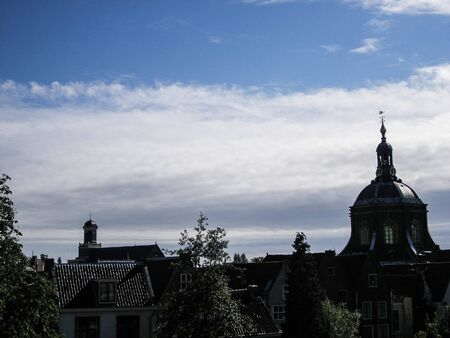 city of Leiden skyline