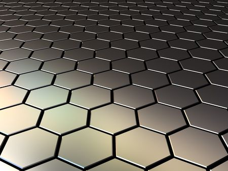 abstract 3d illustration of steel pattern background illustration