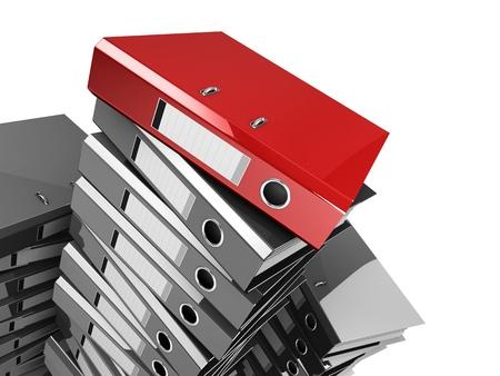 urgent documents folder Stock Photo - 9351239