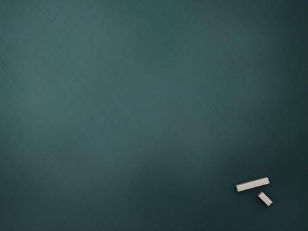 3d illustration of empty chalkboard background Stock Illustration - 10420645