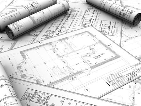Proyecto de diseño moderno de nueva construcción