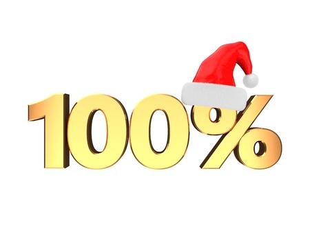 3d illustration of christmas sale concept Stock Illustration - 16802627
