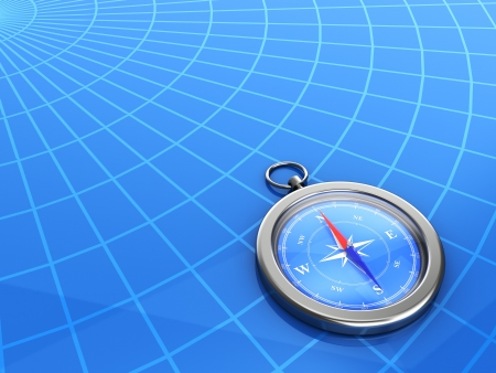 latitude: compass with the latitude and longitude lines on background