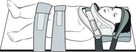 cervicales: Bebé columna cervical lesión de transferencia