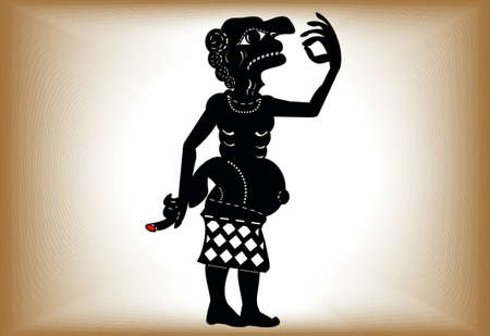 shadow puppets: Ai Teng