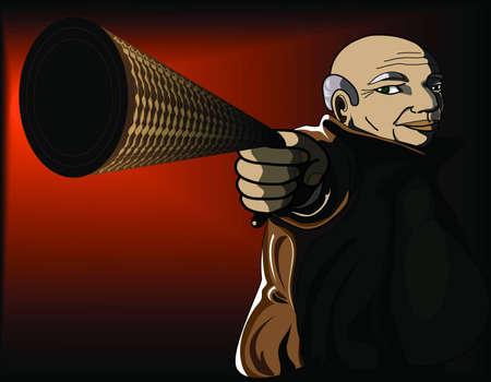 oldman: Oldman Illustration