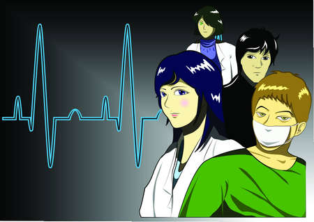 Young Doctor and Surgeon Vector