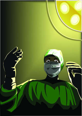 surgeon Ilustrace
