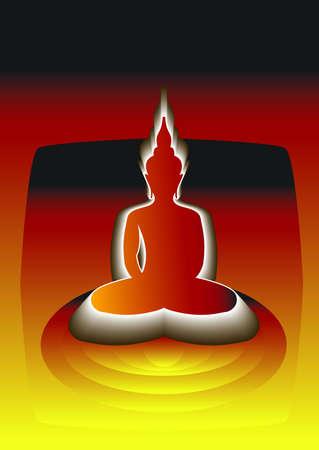 godhead: buddha Illustration