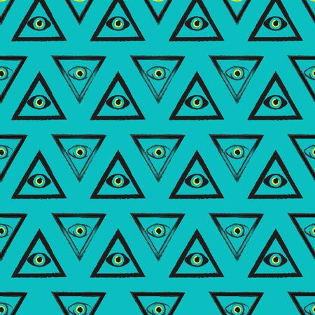 The pattern of Masonic symbols