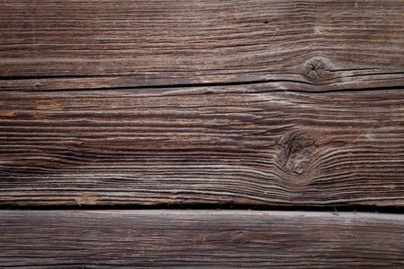 old structured wooden background, rectangle of wooden house wall photo