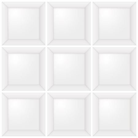 typesetter: type case, collection of squares for digital photo frame collection
