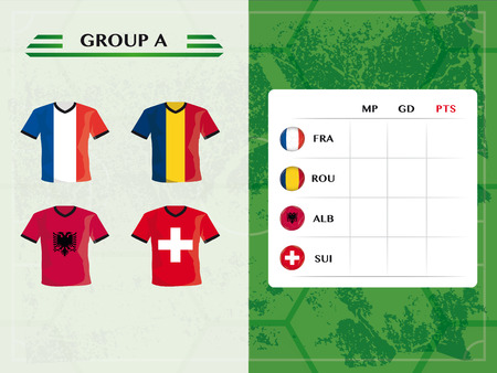 european championship: football teams of european championship group a