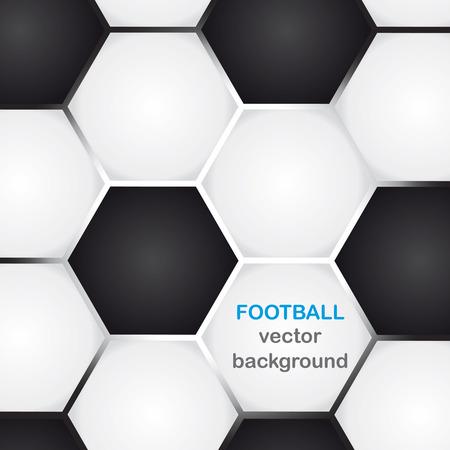 Hintergrund mit klassischen Fußball-Textur und Kopie-Raum