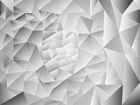 abstract geometric vector background with grey polygon shapes