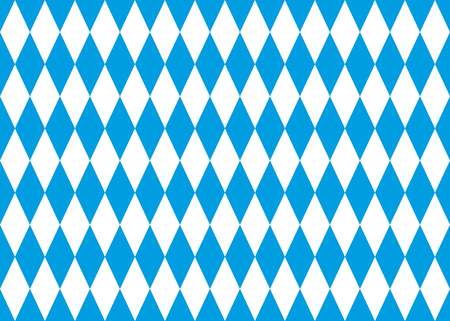 seamless bavarian flag background Illustration