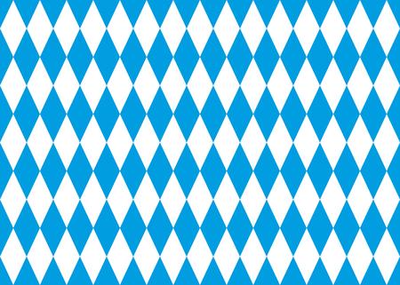 seamless bavarian flag background Illustration