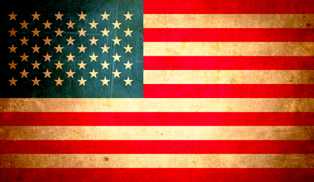 usa flag, abstract grunge design background Stock Photo