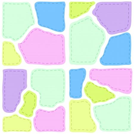 homespun: remiendo con colores de fondo de textura