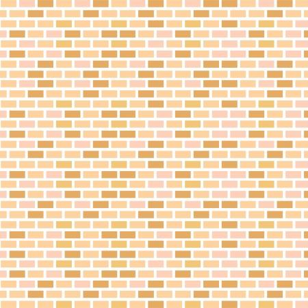 벽돌 벽 완벽 한 벡터 일러스트 배경