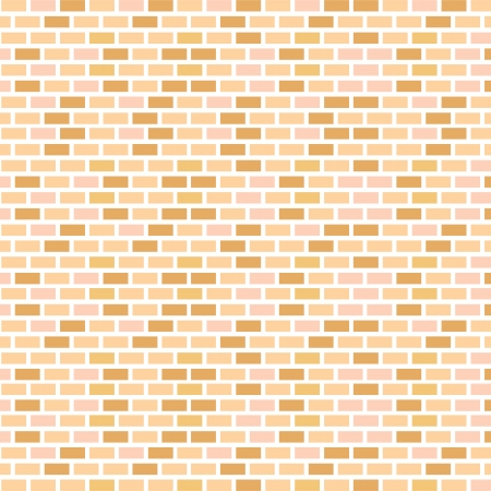 brick wall seamless Vector illustration background Ilustrace
