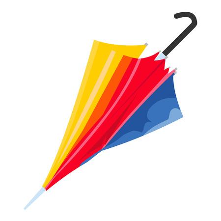 Umbrella isolated illustration on white background