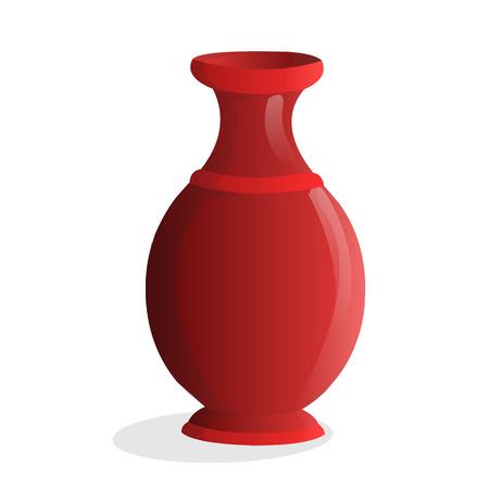 vase isolated illustration on white background Stock Vector - 24755663