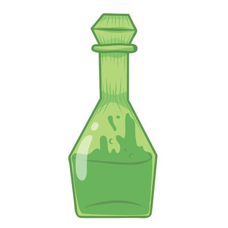 closed corks: bottles isolated illustration on white background Illustration