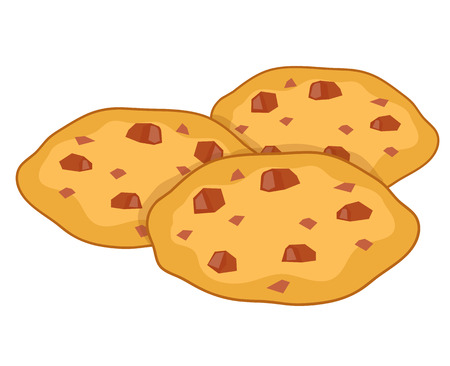 cookies isolated illustration on white background