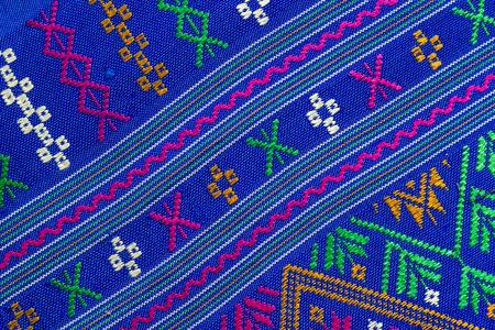 thai silk fabric texture photo