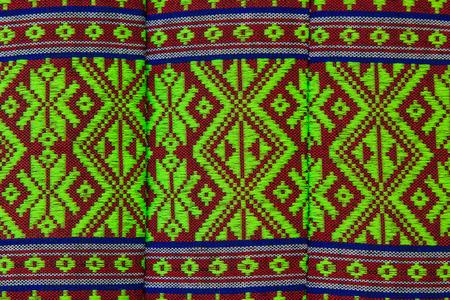 thai fabric texture photo