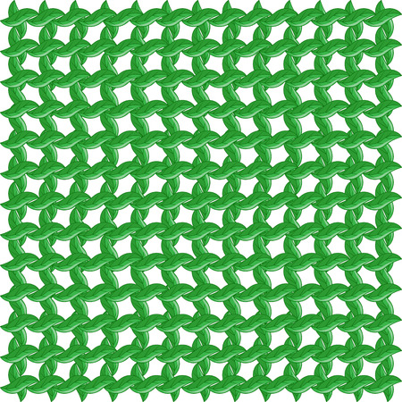 grass weave: Green leaves background, Seamless pattern