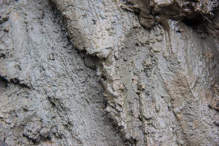 mud pit: Close up of muddy
