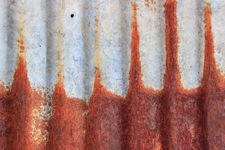 stainless steel sheet: old zinc rusty texture background Stock Photo
