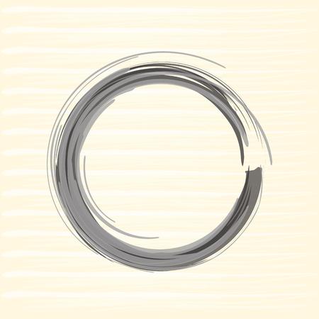 and sumi: Zen circle