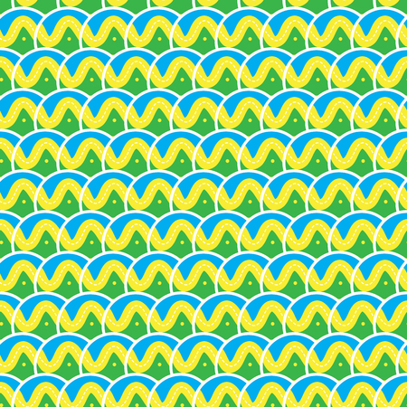 ocean wave: seamless Traditional japanese seigaiha ocean wave pattern
