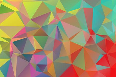 mosaic: abstract polygonal mosaic background