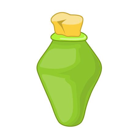 botellas vacias: empty bottles isolated illustration on white background
