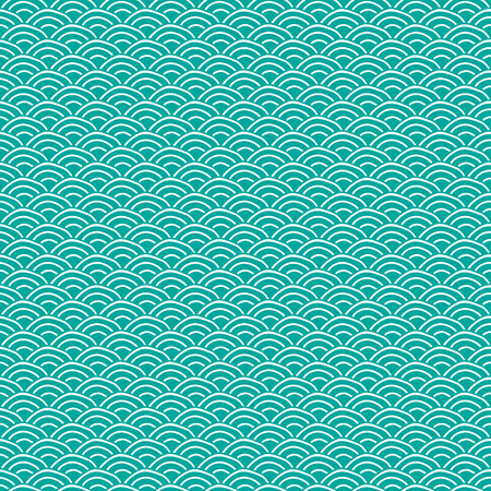 traditional pattern: seamless Traditional japanese seigaiha ocean wave pattern