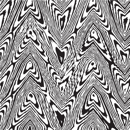randomness: black lines of abstract background Illustration
