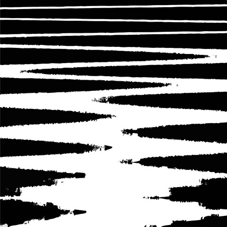 black lines of abstract background Illustration