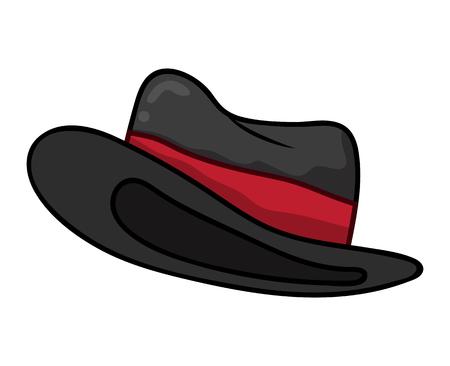 Hut isoliert Illustration