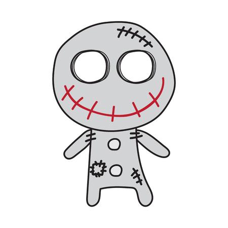 cute cartoon Zombie Monster Design