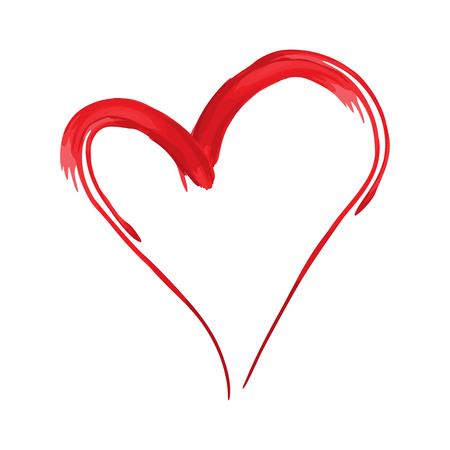 forme: coeur conception de forme pour les symboles d'amour. la Saint-Valentin