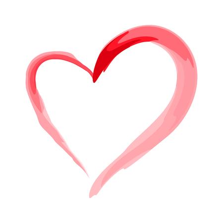 brushed: heart shape design for love symbols. valentines day