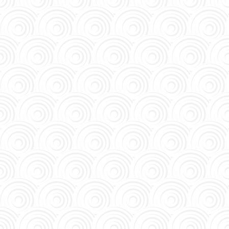 White seamless Traditional japanese seigaiha ocean wave pattern 일러스트