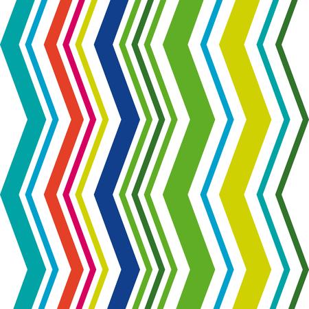 zigzag stripe pattern, pastel colors